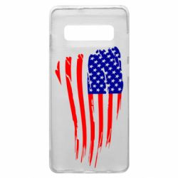 Чохол для Samsung S10+ Прапор США