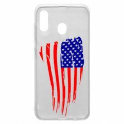 Чохол для Samsung A30 Прапор США