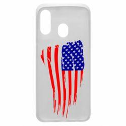 Чохол для Samsung A40 Прапор США