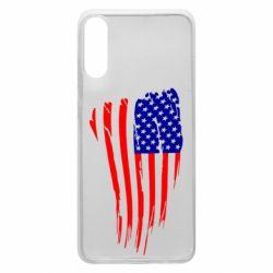 Чохол для Samsung A70 Прапор США