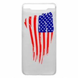 Чохол для Samsung A80 Прапор США