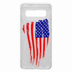 Чохол для Samsung S10 Прапор США