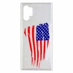 Чохол для Samsung Note 10 Plus Прапор США