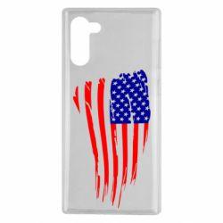 Чохол для Samsung Note 10 Прапор США