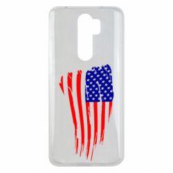 Чехол для Xiaomi Redmi Note 8 Pro Флаг США