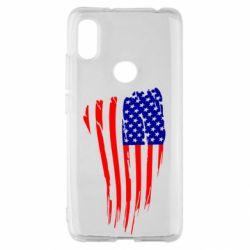 Чехол для Xiaomi Redmi S2 Флаг США