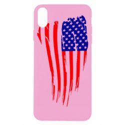 Чохол для iPhone X/Xs Прапор США