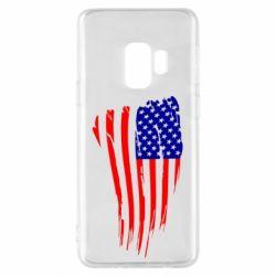 Чохол для Samsung S9 Прапор США