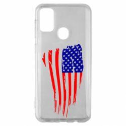Чохол для Samsung M30s Прапор США