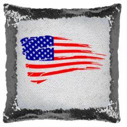Подушка-хамелеон Прапор США