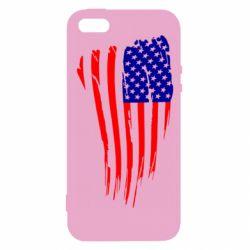 Чохол для iphone 5/5S/SE Прапор США