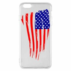 Чохол для iPhone 6 Plus/6S Plus Прапор США