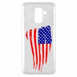 Чохол для Samsung A6+ 2018 Прапор США