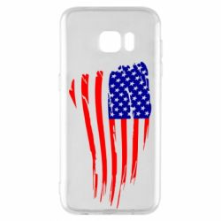 Чохол для Samsung S7 EDGE Прапор США