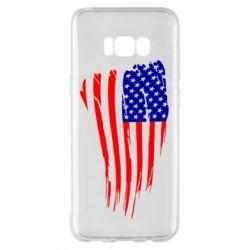 Чохол для Samsung S8+ Прапор США