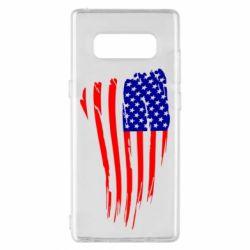 Чохол для Samsung Note 8 Прапор США