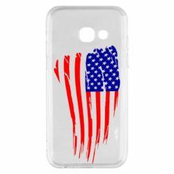 Чохол для Samsung A3 2017 Прапор США