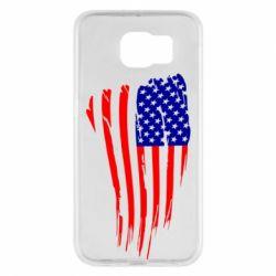 Чохол для Samsung S6 Прапор США