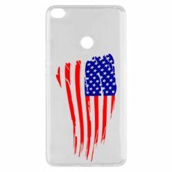 Чехол для Xiaomi Mi Max 2 Флаг США