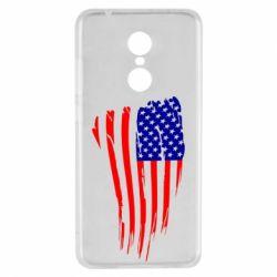 Чехол для Xiaomi Redmi 5 Флаг США