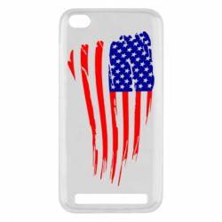 Чехол для Xiaomi Redmi 5a Флаг США