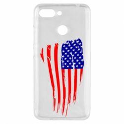 Чехол для Xiaomi Redmi 6 Флаг США