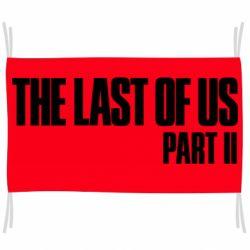 Флаг The last of us part 2 logo