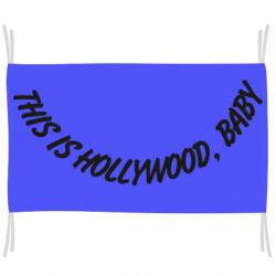 Флаг This is hollywood, baby