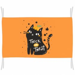 Прапор Trick or treat cat