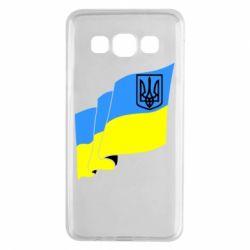 Чохол для Samsung A3 2015 Прапор з Гербом України