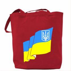 Сумка Флаг Украины с Гербом - FatLine
