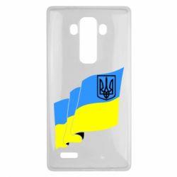 Купить Герб України, Чехол для LG G4 Флаг Украины с Гербом, FatLine