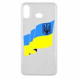 Чохол для Samsung A6s Прапор з Гербом України