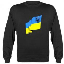 Реглан Флаг Украины с Гербом - FatLine