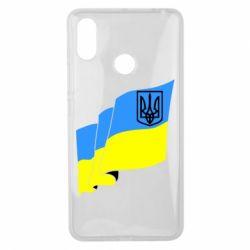 Чохол для Xiaomi Mi Max 3 Прапор з Гербом України