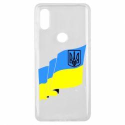 Чохол для Xiaomi Mi Mix 3 Прапор з Гербом України