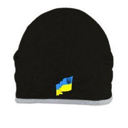 Шапка Флаг Украины с Гербом - FatLine