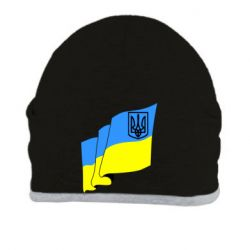 Шапка Флаг Украины с Гербом
