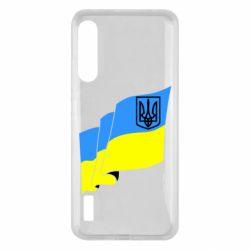 Чохол для Xiaomi Mi A3 Флаг Украины с Гербом