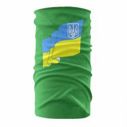 Бандана-труба Флаг Украины с Гербом