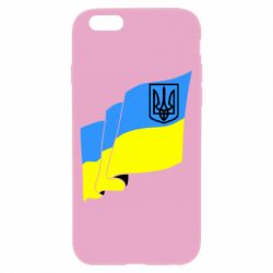 Чехол для iPhone 6/6S Флаг Украины с Гербом