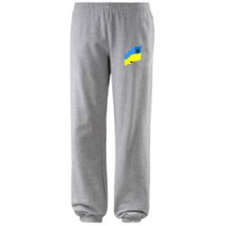 Штаны Флаг Украины с Гербом - FatLine