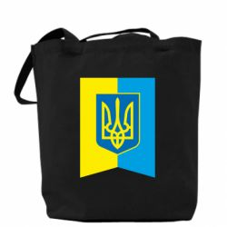 Сумка Flag with the coat of arms of Ukraine
