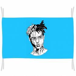 Флаг XXXTentacion Monochrome Art