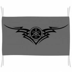 Прапор Yamaha Lines Art