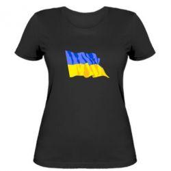 Женская футболка Флаг - FatLine
