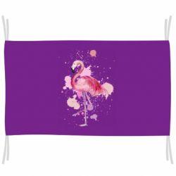Флаг Flamingo pink and spray