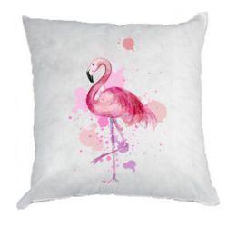 Подушка Flamingo pink and spray