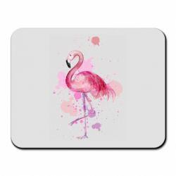 Коврик для мыши Flamingo pink and spray