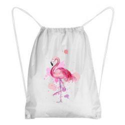 Рюкзак-мешок Flamingo pink and spray